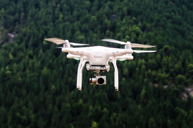 drony dla telekomunikacji